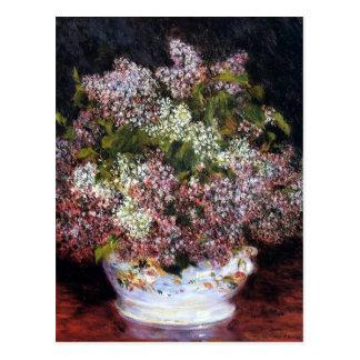 Renoir Bouquet of Flowers Fine Art Postcard