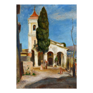 Renoir - Chapel of our Lady of Protection Poster