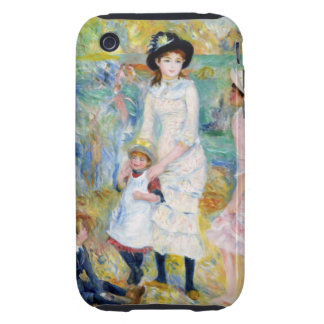 Renoir - Children on the Seashore iPhone 3 Tough Case