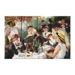 Renoir : Déjeuner de la partie de canotage Toile Tendue