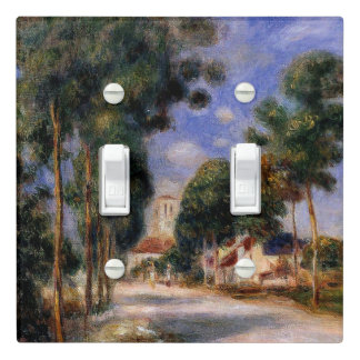 Renoir - Entering the Village of Essoyes Light Switch Cover