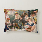 Renoir French Luncheon at the Boating Party Decorative Pillow