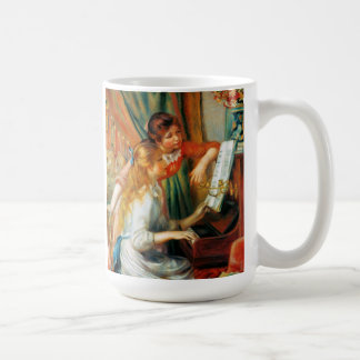 Renoir Girls at the Piano Mug