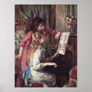 Renoir: Girls at the Piano Poster