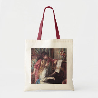 Renoir: Girls at the Piano Tote Bag