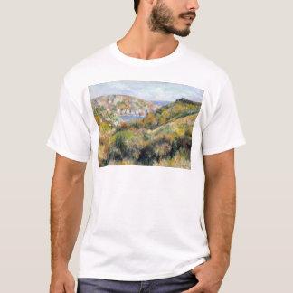 Renoir Hills around Bay of Moulin Huet Guernsey T-Shirt