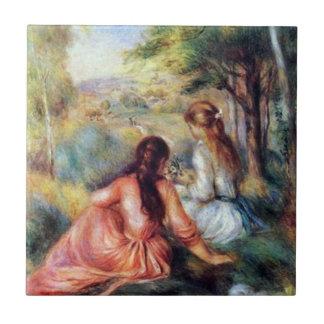 Renoir: In the Meadow Tile