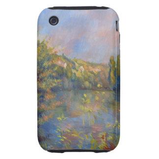 Renoir Lakeside Landscape iPhone 3 Tough Cover