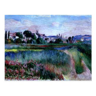Renoir - Landscape Postcard