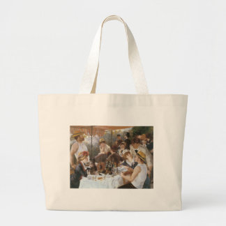 Renoir, Luncheon of the Boating Party, 1880 Large Tote Bag
