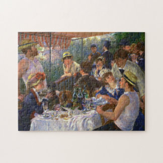 Renoir Luncheon of the Boating Party Fine Art Jigsaw Puzzle