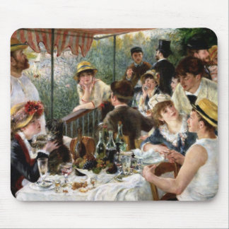 Renoir: Luncheon of the Boating Party Mouse Pad