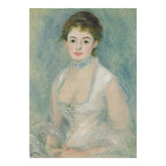 Renoir Madame Henriot Portrait Fine Art Poster