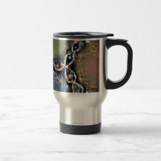 Renoir Newton's Method Fractal Travel Mug