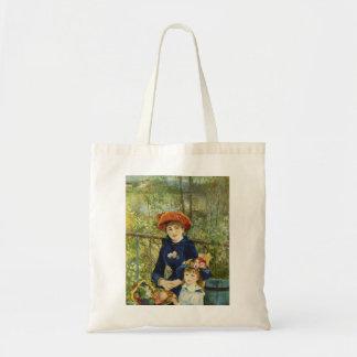 Renoir Painting Canvas Bags