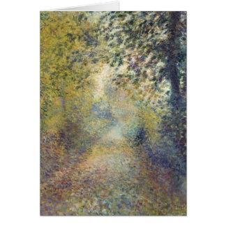 Renoir Painting Card
