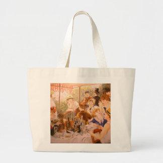 Renoir Painting Jumbo Tote Bag
