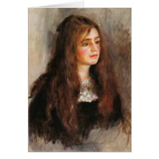 "Renoir ""Portrait of Julie Manet"" Card"