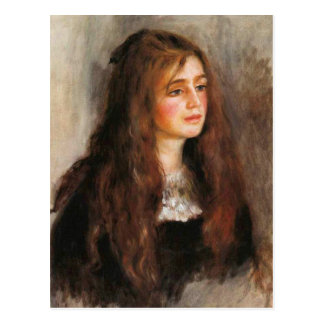 "Renoir ""Portrait of Julie Manet"" Postcard"