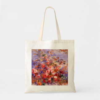 Renoir: Roses by the Window Budget Tote Bag