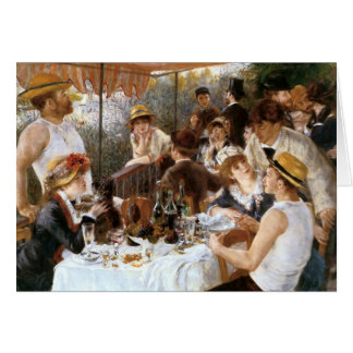 Renoir's 'Luncheon of the Boating Party' Thank You Card