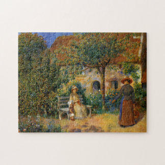 Renoir: Scene of the Garden in Brittany Puzzle
