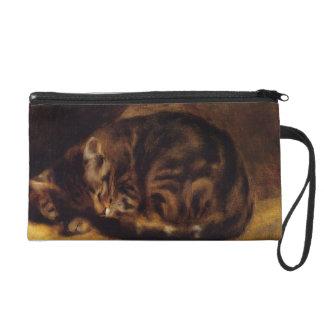 Renoir Sleeping Cat Wristlet