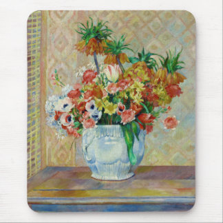 "Renoir, ""Still Life: Flowers"" 1885 Mouse Pad"