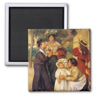 Renoir - The Artist's Family Magnet