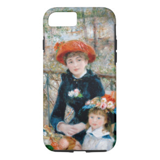 Renoir - The Two Sisters On The Terrace - 1881 iPhone 7 Case