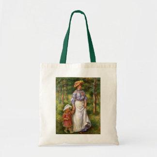 Renoir: The Walk Budget Tote Bag