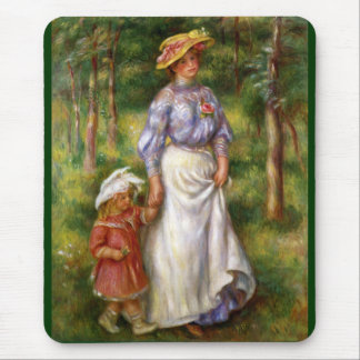 Renoir: The Walk Mouse Pad