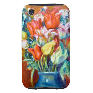 Renoir Tulips iPhone 3 Tough Case