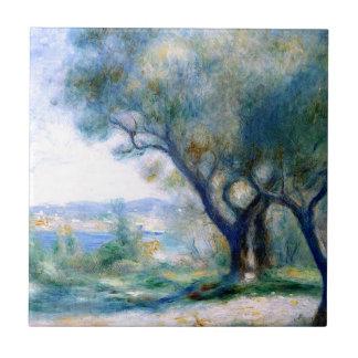 Renoir - View of Mourillon Tile