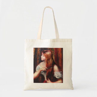 Renoir Young Girl Combing Her Hair Tote Bag