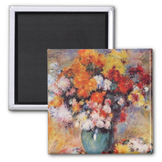 Renoir's A Vase of Tulips and Anemones Magnet