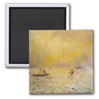 Renoir's A View of Venice Fog Magnet