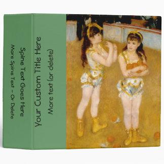Renoir's Acrobats at the Cirque Fernando (1879) Binders