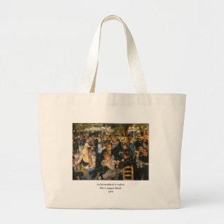Renoir's Bal du   de la Galette (1876) Tote Bag
