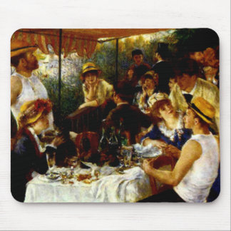 "RENOIR'S ""BOAT PARTY"" MOUSE PAD"