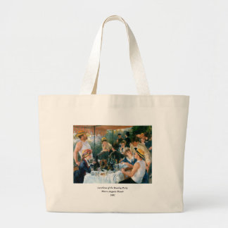 Renoir's Luncheon of the Boating Party (1881) Large Tote Bag