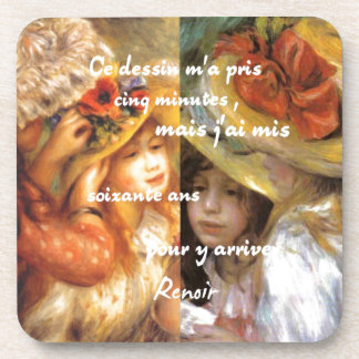 Renoir's paintings is plenty of love coaster