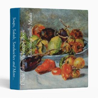Renoir's Still Life with Mediterranean Fruit, 1911 Vinyl Binders