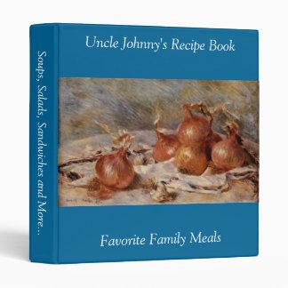 Renoir's Still Life with Onions (1881) Vinyl Binders