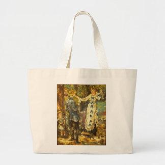 Renoir's Swing 2 Large Tote Bag