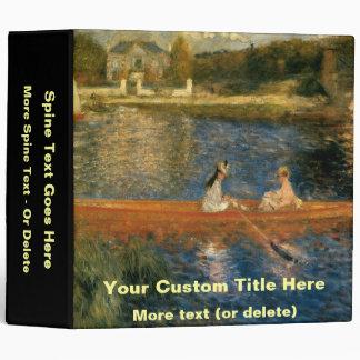 Renoir's The Seine at Asnières (The Skiff) ca 1879 Binders
