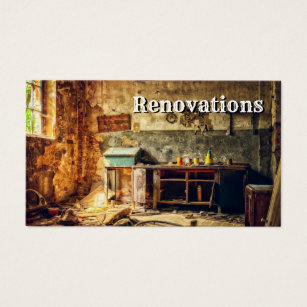 Renovation business cards business card printing zazzle ca renovations home improvements business card colourmoves