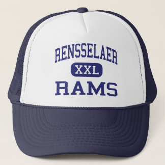 Rensselaer - Rams - Middle - Rensselaer New York Trucker Hat