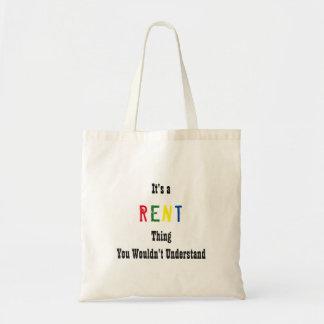 Rent Tote Bag