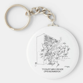 Reorganization Cartoon 1210 Keychain